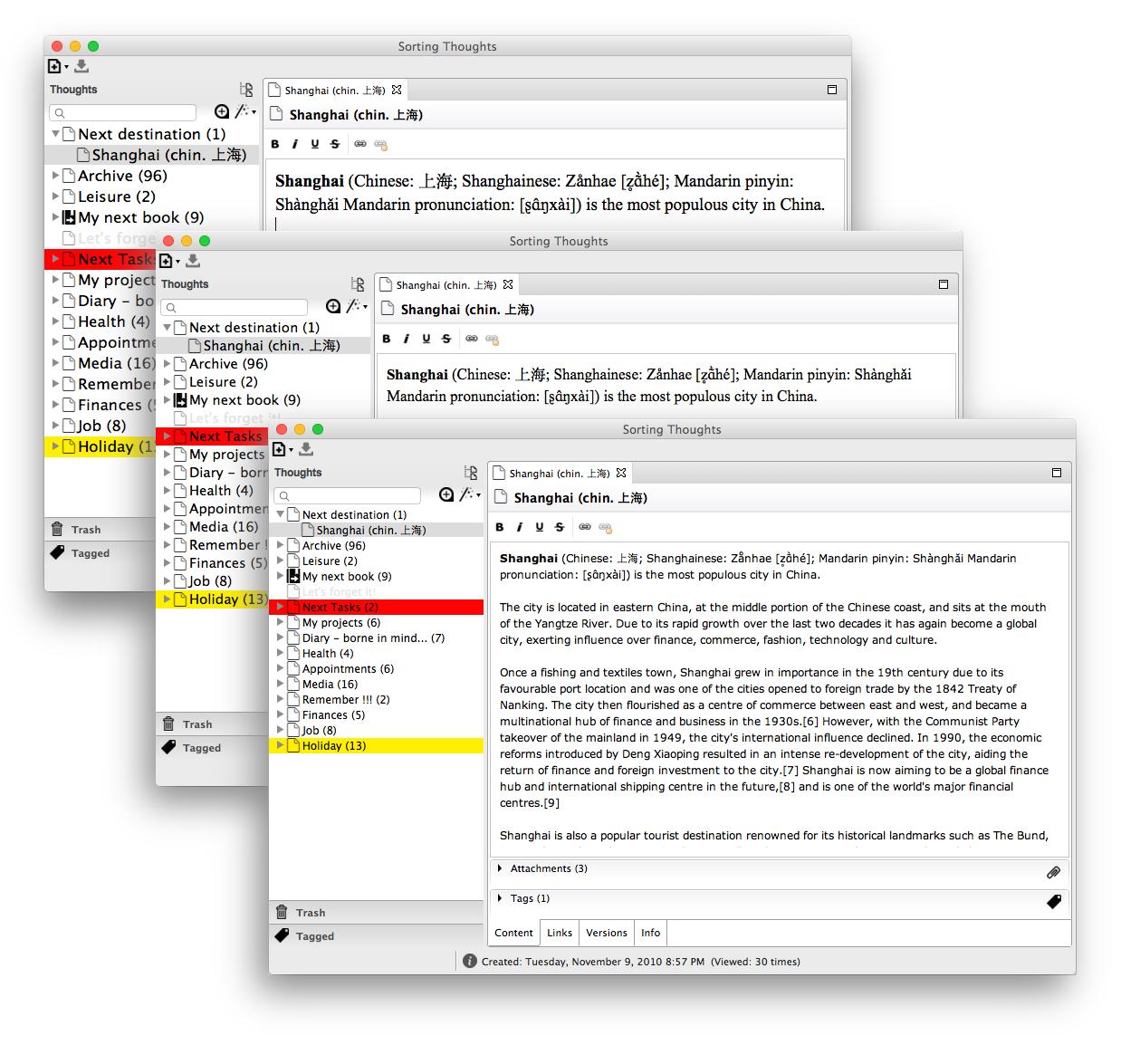 Unterschiedliche Textgrößen in ST 2.0